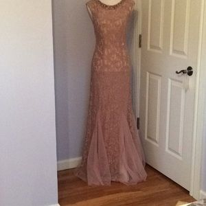Mermaid  Lace Evening Gown